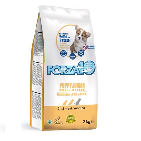 Forza10 PUPPY JUNIOR MAINTENANCE Small/Medium из курицы с картофелем