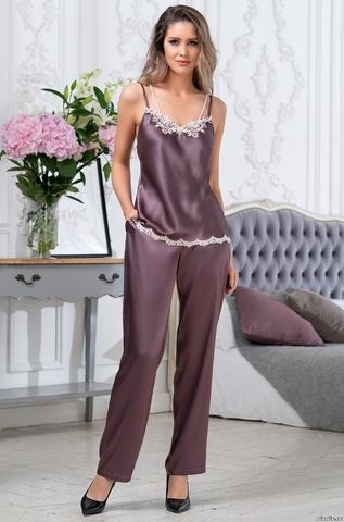 Комплект домашний с брюками Mia-Amore BRIGITTE БРИДЖИТ 3686