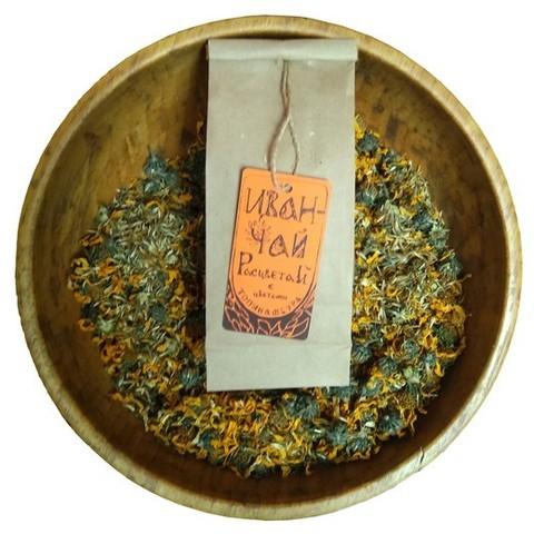 Иван-чай с цветами топинамбура (цена за кг)