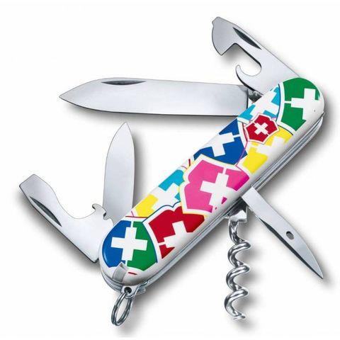 Нож перочинный Victorinox Spartan VX Colors (1.3603.841) 91мм 12функций микс