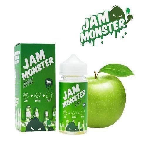 JAM MONSTER - Apple (100ml)