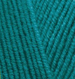 Пряжа Alize Lanagold 640 павлиновая зелень