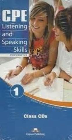 CPE Listening and Speaking Skills 1 (C2) — комлпект дисков для работы