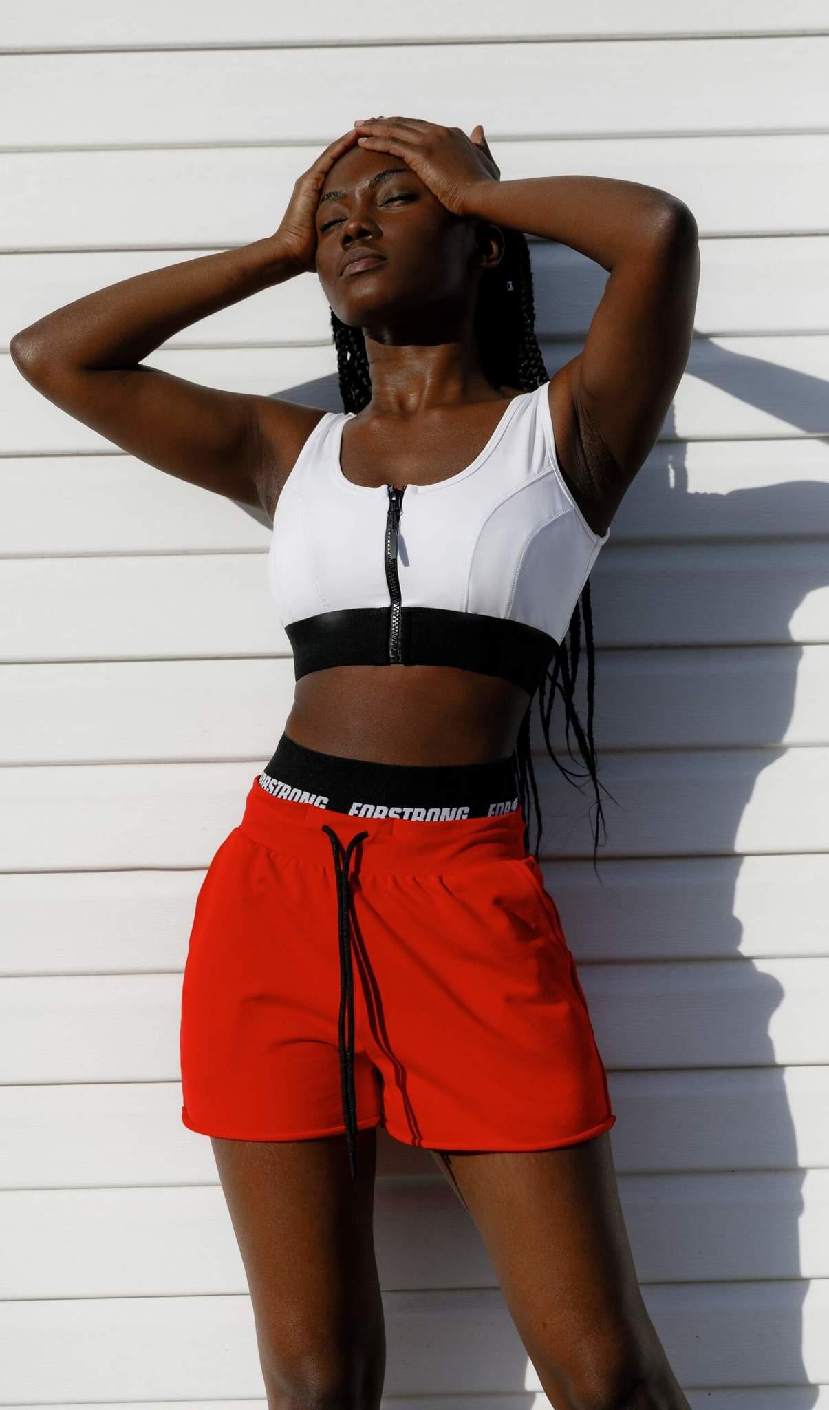 FS Red Forstrong - шорты для танцев, фитнеса и активного отдыха