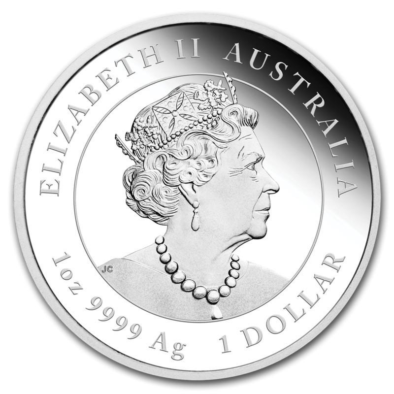 1 доллар. Год Крысы. Австралия. 2020 год