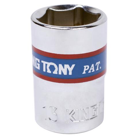 KING TONY (333513M) Головка торцевая стандартная шестигранная 3/8