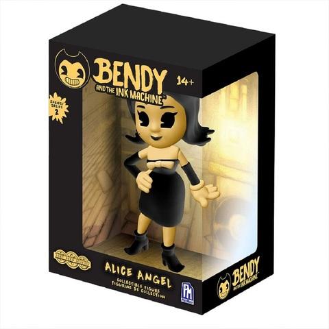 Жёлтая Виниловая фигурка Ангел Алиса. Бенди и Чернильная Машина