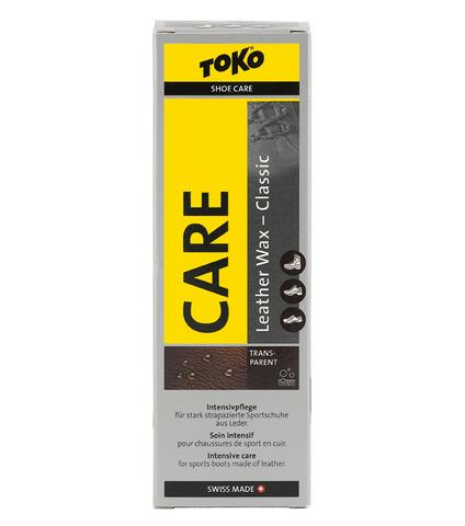 Картинка пропитка Toko Leather Wax Transparent - Beeswax 75ml