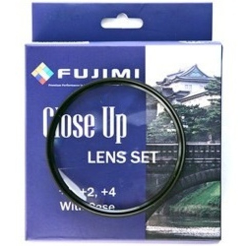 Макролинзы Fujimi Close-up Lens Set +1+2+4 67mm