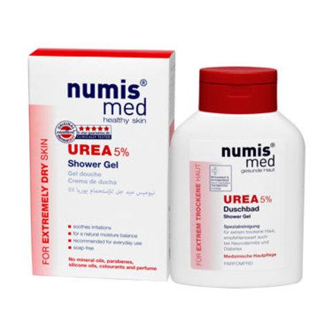 Гель для душа с 5 % мочевиной Numis Med, 200 мл