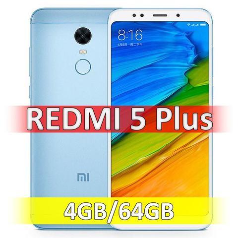 Xiaomi Redmi 5 Plus (4-64Gb) Blue