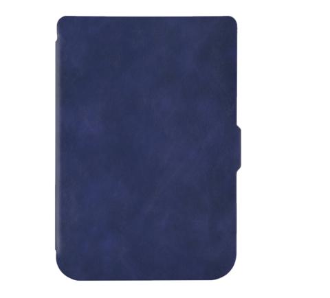 Чехол - обложка для PocketBook 616-627-632 темно-синий