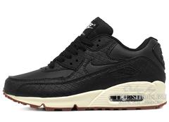 Кроссовки Женские Nike Air Max 90 Essential Black Begie