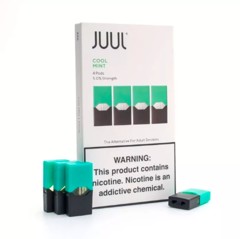 Картридж Juul Labs - Cool Mint 5% (4шт) analog
