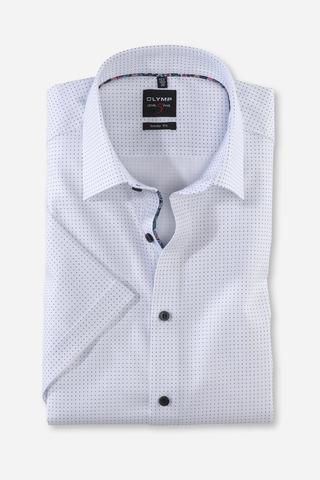 OLYMP LEVEL FIVE, BODY FIT сорочка с коротким рукавом