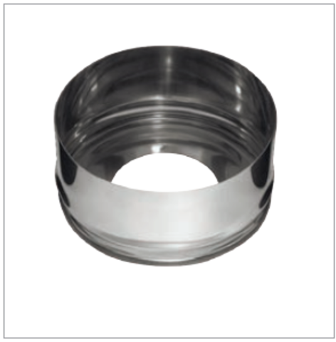 Заглушка с отверстием (430/0,5мм) Ф120x200