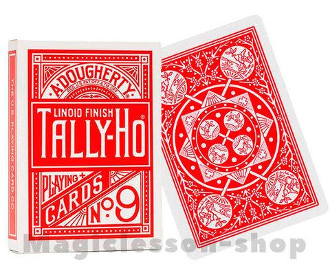 Карты Tally-Ho Fan back