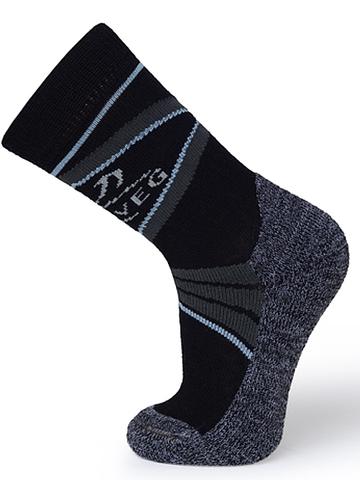 Термоноски Norveg (черные) для катания на коньках