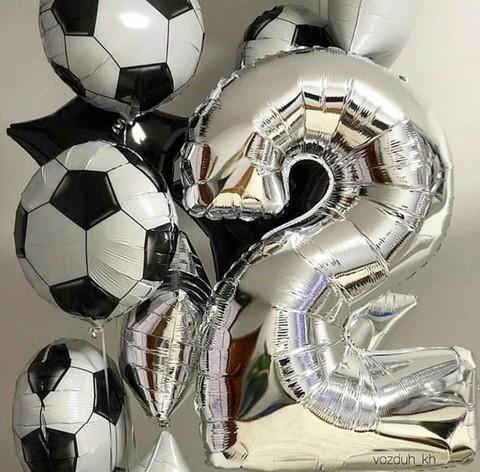 Шары футбол на день рождения