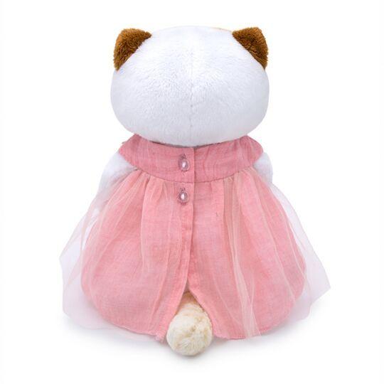Кошечка Ли-Ли в платье с вязаными ягодками