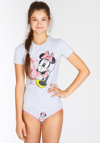 Футболка и трусики для девочки-подростка с Minnie