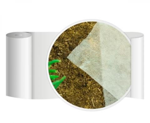 Агротекс'Пром 17 белого цвета с укрепленными краями