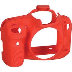 Защитная накладка easyCover easyCover Silicone Protection Cover for Canon EOS 7D Mark II красный