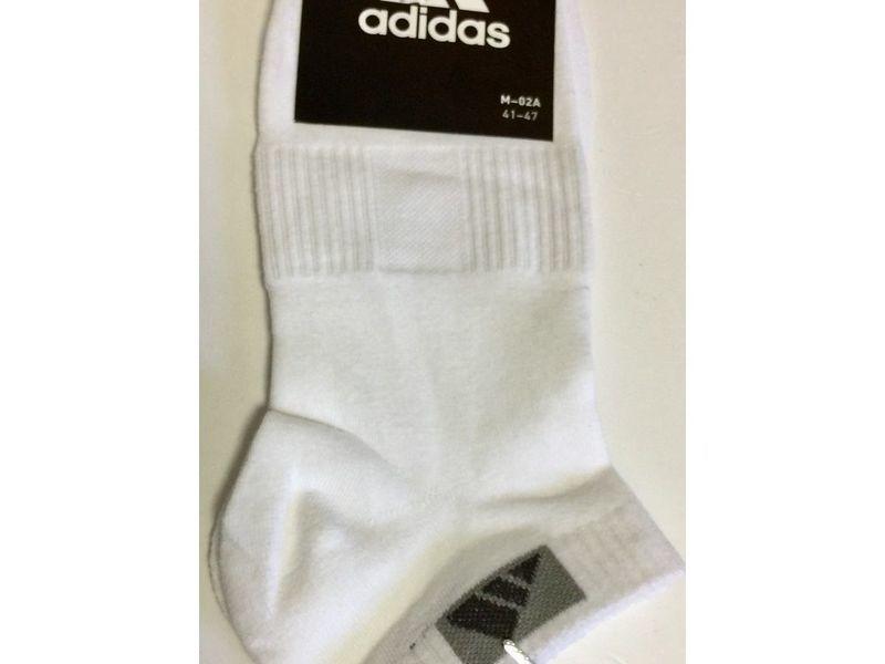 Мужские носки Черные Adidas M-02A Н_561
