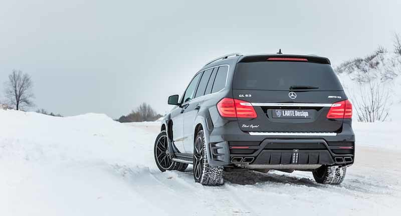 Обвес Larte Design Black Crystal для Mercedes GLS