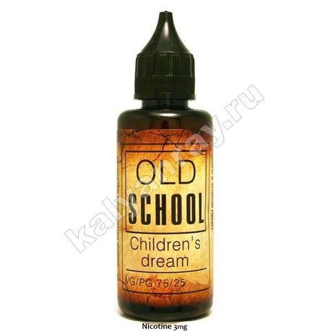 Жидкость OLD SCHOOL - Children's Dream 3 мг никотина