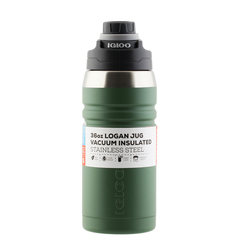 Термос Igloo (Иглу) Logan dark green 1л