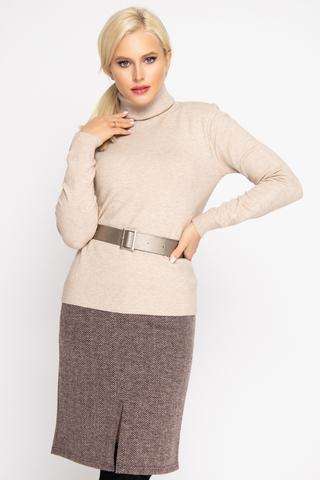 """<div class=""""form-group""""> <p>Юбка - карандаш считается базовым предметом женского гардероба, который никогда не выйдет из моды. Эта&nbsp; модель отлично смотрится на всех типах фигуры. Пояс на подкройной обтачке, по спинке замок, спереди разрез. Отлично сочетается со всеми бомберами """"ёлочка"""" из нашей осенней колекции.</p> <p>(Длины: 46-58см; 48-59см; 50-59см; 52-60см)&nbsp;</p> <p>&nbsp;</p> </div>"""