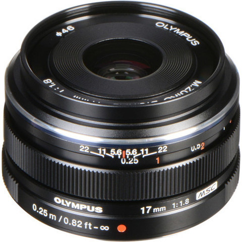 Объектив Olympus M.Zuiko Digital 17mm f/1.8 для Micro 4/3