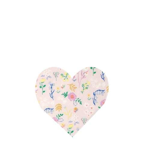 Салфетки в форме сердца
