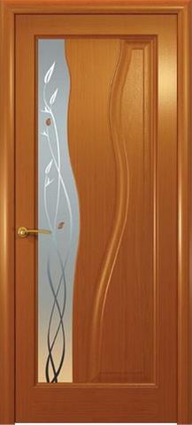 Дверь Гольфстрим new (анегри, остекленная шпонированная), фабрика Океан