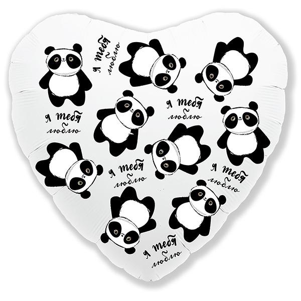 Фольгированные сердца Шарик из фольги Сердце Панда Я тебя люблю 9751336.jpg