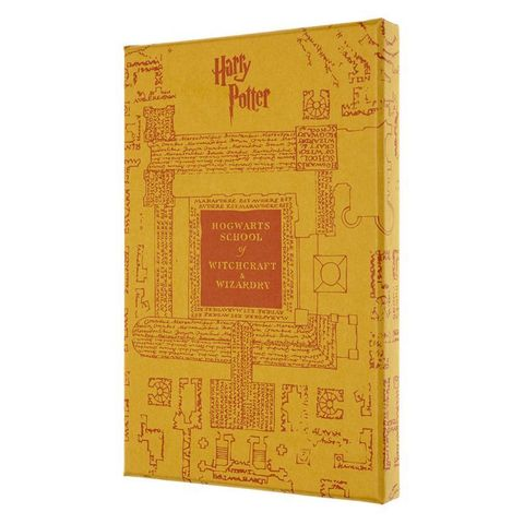 Блокнот Moleskine LIMITED EDITION HARRY POTTER LEHP02QP060CLT 130х210мм 192стр. линейка желтый Dots