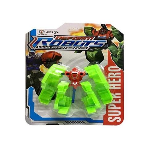 Трансформер-Робот Warriors на карт., 47250, 1кор*1бл*10шт