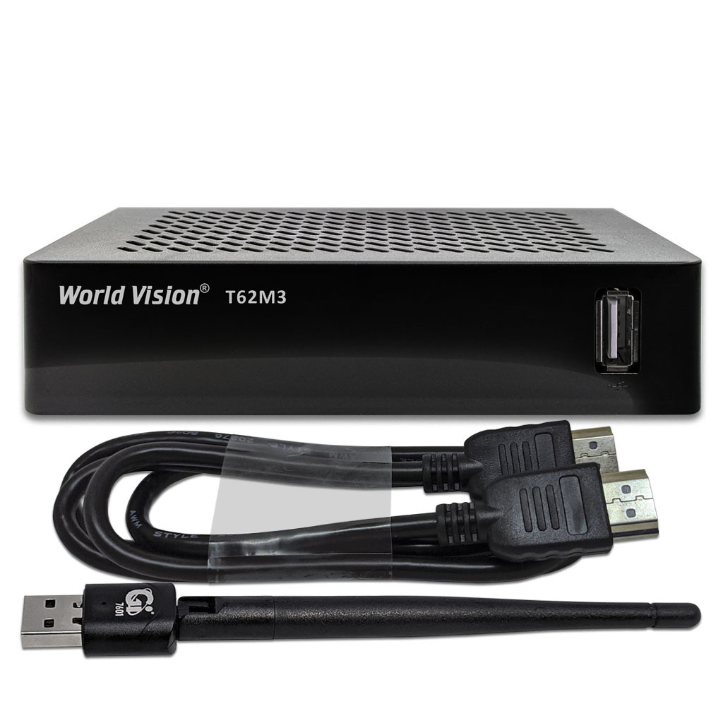 КОМПЛЕКТ WORLD VISION T62M3 + USB WI-FI + HDMI