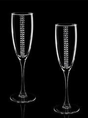 Подарочный набор бокалов для шампанского «Алмазный фонд», фото 1