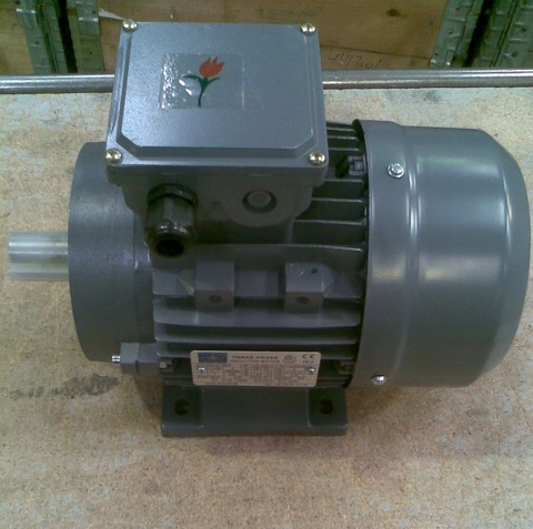 22121712 Электродвигатель переменный, трехфазный, асинхронный 1,1 кВт 3х400 В, 1400 об/мин