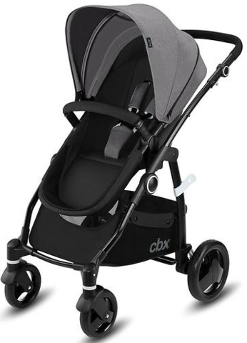 Коляска 2 в 1 Cybex CBX Leotie Pure Comfy Grey