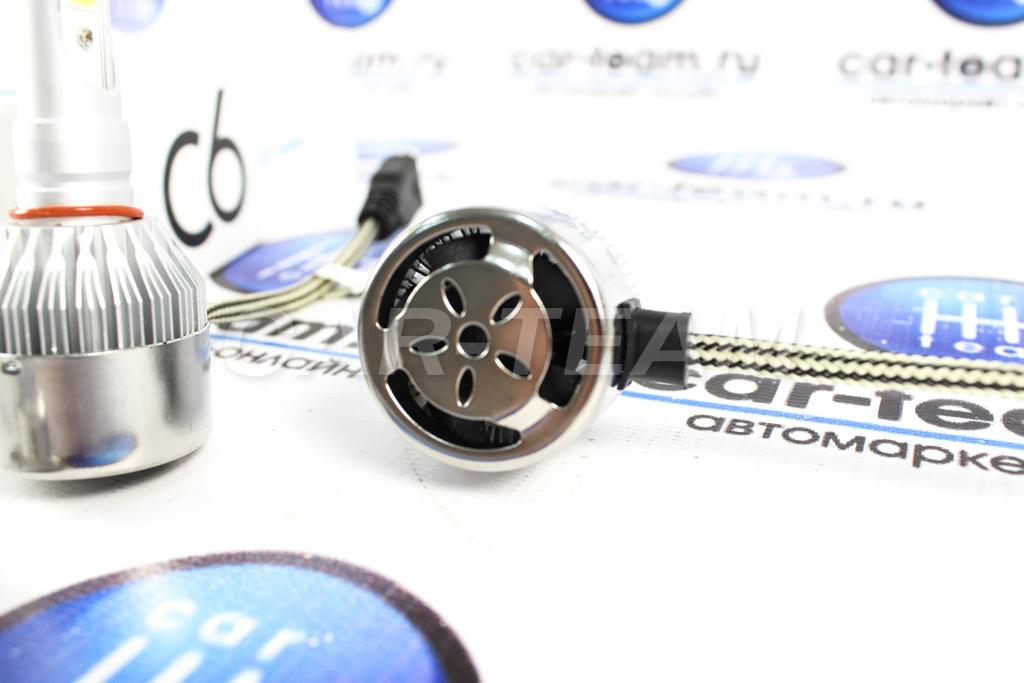 Автолампы светодиодные LED C6 6000К цоколь H7