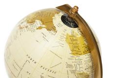 """Глобус на треноге, настольный Secret De Maison ( mod. 52251/8"""" ) — античная медь 3590"""