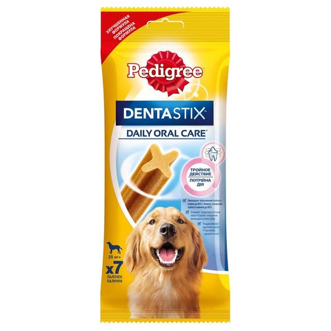 Pedigree DentaStix лакомство для собак крупных пород 270 г