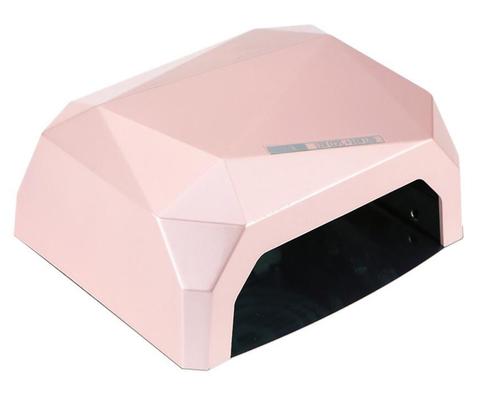 Лампа гибридная CCFL+Led 36 Вт светло розового цвета с магнитным дном