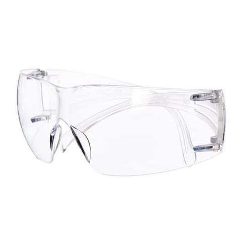 Очки открытые защитные 3M SecureFit 200, цвет линз прозрачный, с покрытием AS/AF против царапин и запотевания  SF201AF-EU