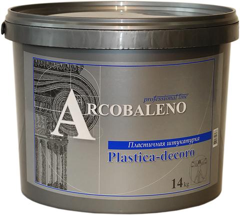 PLASTICA DECORO Пластичная штукатурка 5 кг.