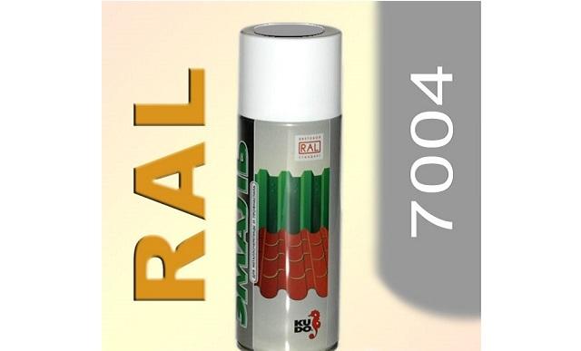 Краска аэрозольная RAL 7004 (Серый)