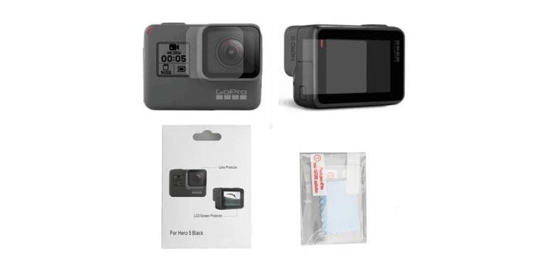 Набор защитных стекол для камеры GoPro HERO комплект